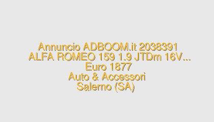 ALFA ROMEO 159 1.9 JTDm 16V...