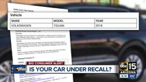 Let Joe Know: Your car may be under recall and you may not even know it!