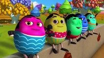 Ten Little Humpties | 3D Rhymes | Humpty Dumpty Song | Nursery Rhymes And Kids Songs