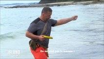 """Un candidat de """"The Island Célébrités"""" pêche un poisson qui s'avère... mortel ! Regardez"""