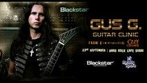 Gus G Guitar Clinic Dubai - Online Music Store In Dubai- Music Instruments Store Online - Online Guitar shop - Buy Drums Online - Drums shop