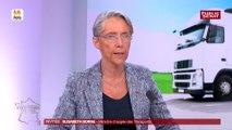 Taxe poids lourds : « Il n'est pas question de revenir à l'écotaxe » déclare Elisabeth Borne