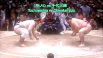 Sumo Digest[Natsu Basho 2018 Day 10, May 22th]20180522夏場所10日目大相撲ダイジェスト