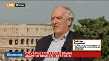 Professor Argentieri Says Not Possible for Italy to Leave Euro Zone