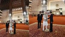 PM Modi, Indonesia President Joko Widodo visit Istiqlal Mosque in Jakarta | OneIndia News