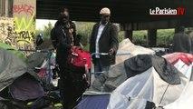 Paris : 1 016 migrants évacués sur le campement du Millénaire