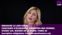 CONCOURS D'ELOQUENCE de la Fondation des Femmes, dimanche 10 juin à la Maison de la radio