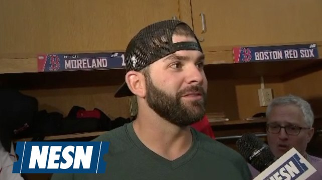 Mitch Moreland on Red Sox offense: 'Everybody's contributing'