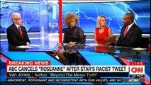 """Van Jones, Alice Stewart reaction to ABC cancels """"Roseanne"""" after Star's Racist tweets. #VanJones @AliceTweet #Breaking #ABC #Roseanne #DonaldTrump #RacistTweets #RoseanneFired"""