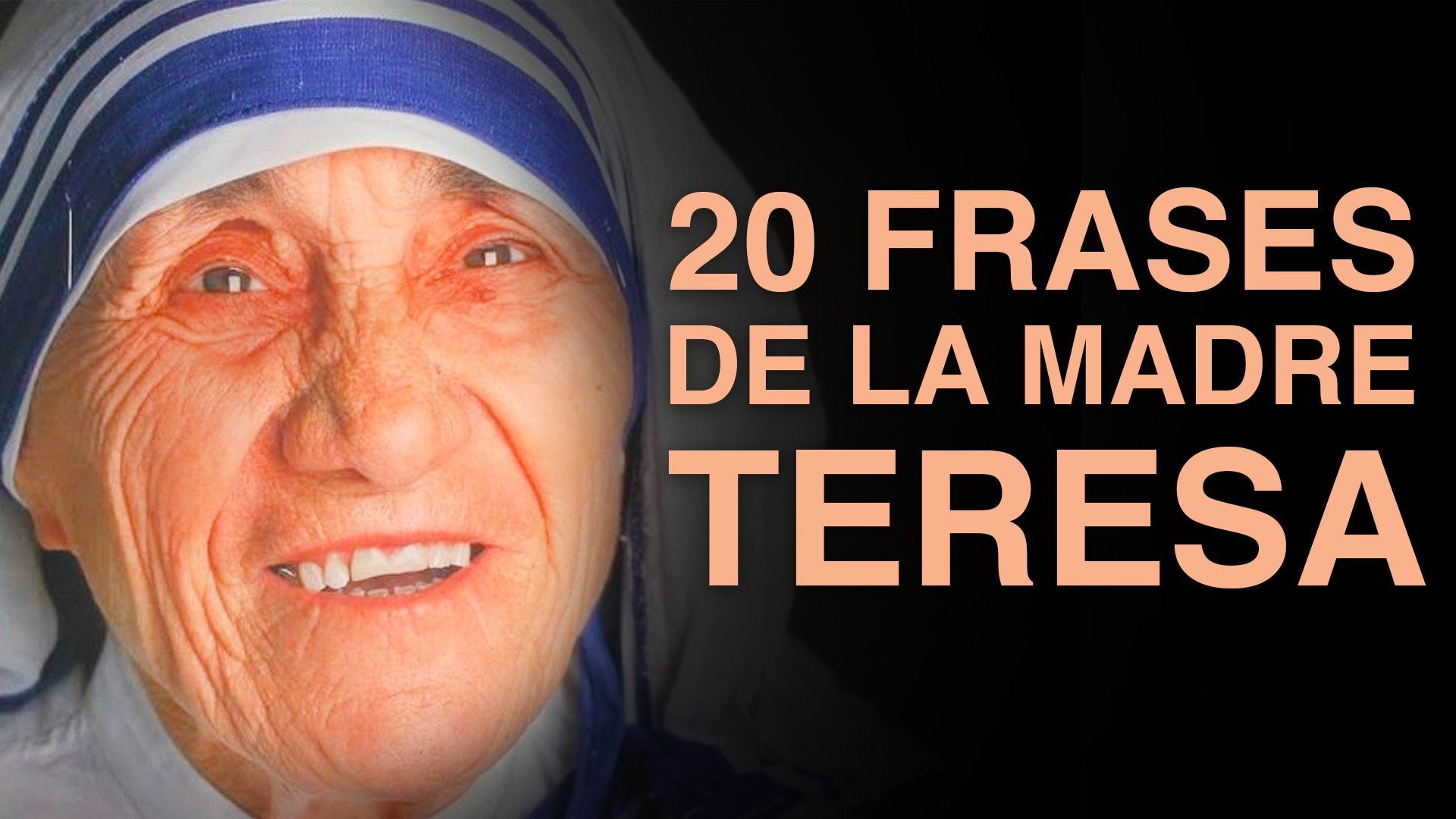 20 Frases De La Madre Teresa De Calcuta Para Un Mundo Mejor