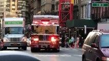 Des pompiers en colère face à un automobiliste qui bloque leur passage !