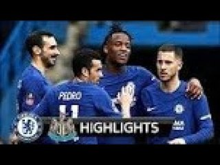 Chelsea vs Newcastle 3-0 ● All Goals & Extended Highlights   28/01/2018 HD