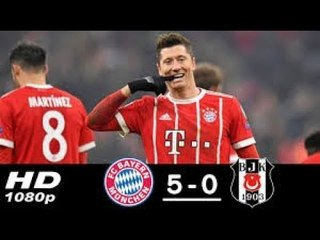 Bayern Munich vs Besiktas 5-0● All Goals & Highlights 20/02/2018 HD
