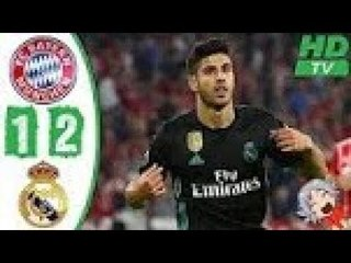 BAYERN MUNICH 1-2 REAL MADRID -ALL GOALS & HIGHLIGHTS- 25/4/2018 HD