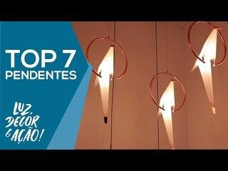 TOP 7 Pendentes na EXPOLUX 2018 - Luz, Decor & Ação!