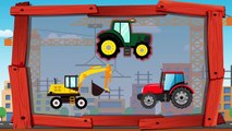 Colors for Kids Toddlers Learn Colors with Dinosaurs Tractor Excavator   Fun Learning Video
