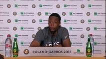 "Roland Garros -  Monfils: ""Solide mais pas flamboyant"""