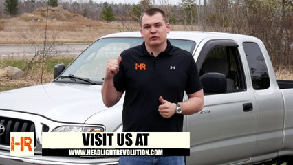 400% Brighter Tacoma Headlights! STARR HID XP3018 DOT Projector Install and Demo