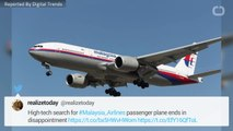 High Tech Search For MH370 Ends