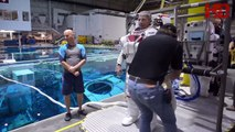 Astronaut Dive Training - A Part of Astronaut's Training Regimen