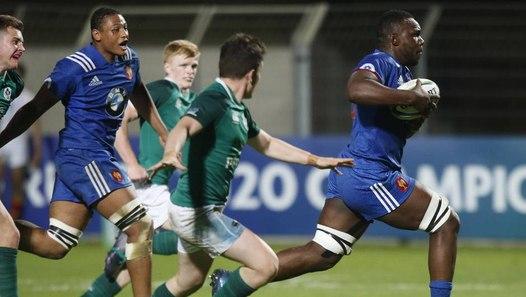 r u00e9sum u00e9 de france    irlande - u20 rugby world cup