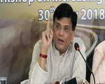 Minister Piyush Goyal demonstrates the difference between past and present style of governance through the progress of Dedicated Freight Corridors in Railways