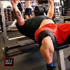 Worlds Strongest Man 2018 - Chest Workout