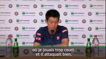 """Roland-Garros - Nishikori : """"Paire joue différemment des autres joueurs"""""""