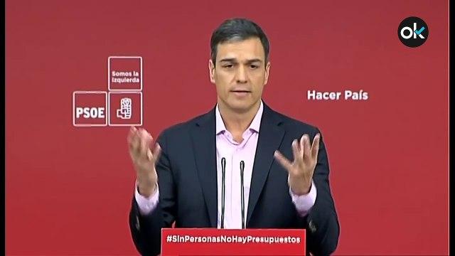 """Cuando Pedro Sánchez criticaba los PGE de 2018 por """"asemejarnos a Bulgaria""""..."""