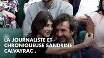 Cyrille Eldin et Sandrine Calvayrac : bisous à gogo dans les tribunes de Roland-...
