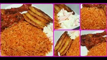 How to Make Nigerian Jollof Rice | How to Cook Jollof Rice | Party Jollof Rice | Yummieliciouz Food