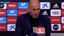 Zidane explique pourquoi il quitte le Real Madrid