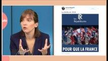 """Bergé : """"La droite reprend quasiment les idées du FN"""""""
