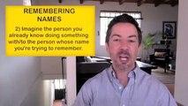 Communication Skills Training: How to Remember Names-Memory Tricks for Good Communication Skills