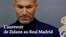 Les images de l'au revoir de Zidane au Real Madrid