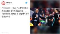 Football. Les raisons du départ de Zinédine Zidane du real Madrid.