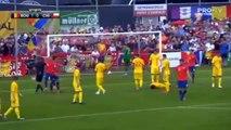 Nicolás Castillo Red Card HD - Romania 1 - 1 Chile - 31.05.2018 (Full Replay)
