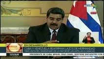 teleSUR Noticias: Maduro y Díaz-Canel se reúnen en Caracas