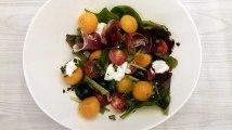 Recette : Salade estivale de melon