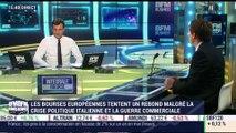 Les tendances sur les marchés: les bourses européennes tentent un rebond malgré la crise politique italienne et la guerre commerciale - 31/05