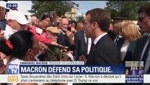"""Loto du patrimoine: """"On va mobiliser de l'argent privé"""" pour ne pas augmenter les impôts, explique Macron"""