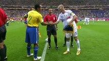 France / Brésil 2006 - meilleures actions de Zidane en match de coupe du monde !