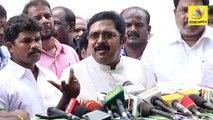 ரஜினி போல் நடித்த டிடிவி தினகரன் : TTV Dinakaran funny imitation of Rajinikanth | Sterlite Protest