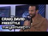 Craig David freestyle on Lock Arff backstage at Wireless - Westwood