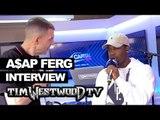 A$AP Ferg Back Hurt dance, New Level backstage at Wireless - Westwood