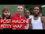 Post Malone & Fetty Wap backstage at Wireless