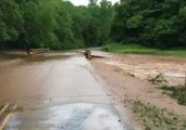 Heavy Rain Leads to Flooding in Rutherford and Polk Counties, North Carolina