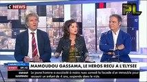 Élisabeth Lévy  pas contente de voir Mamoudou Gassama  à lElysée