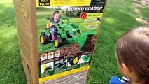 Unboxing And Assembling The Powered Ride On Peg Perego John Deere Tror 12 Volt Compilation!