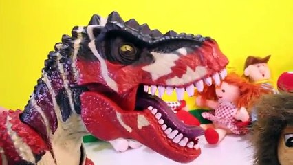 DINOSAUR ISLAND of Misfit Toys from RUDOLPH the Red Nose Reindeer   Dinosaur Toys Kids Videos